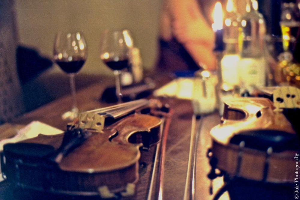 Un verre de vin...