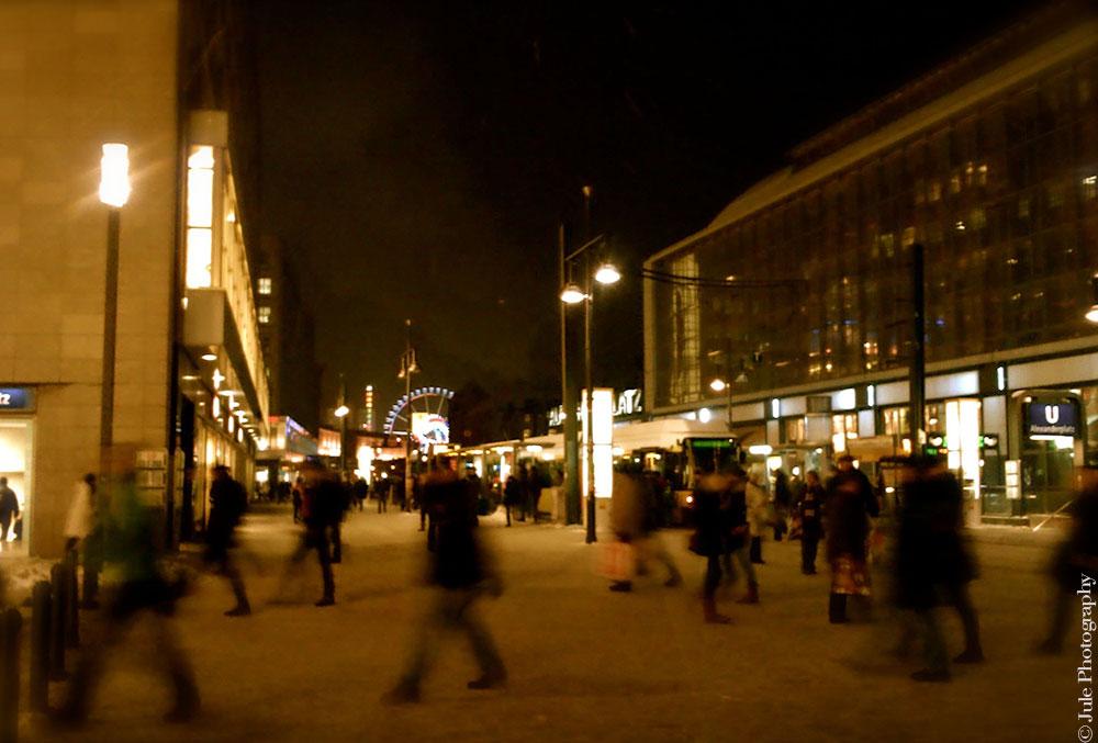 Ce soir je marche dans la rue